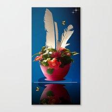 Federleicht. Canvas Print