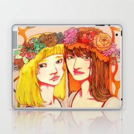 Snow White and Rose Red Laptop & iPad Skin