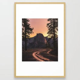 Glacier Point | Yosemite, California | John Hill Photography Framed Art Print
