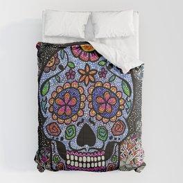 Crazy Skull  Comforters