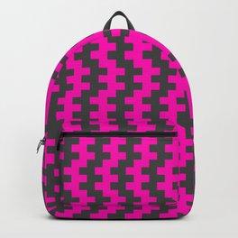 Stripe Dancer Pink Backpack