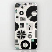 data iPhone & iPod Skins featuring Data by Florent Bodart / Speakerine