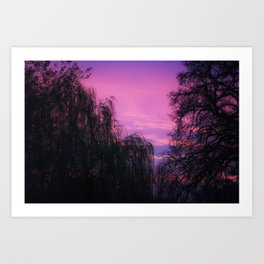 Art By God a beautiful Sunrise Art Print