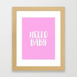 Girls Room Decor Baby Girl Gift Girly Gifts Newborn Nursery Wall Art Nursery Decor Nursery Art Baby Framed Art Print