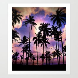 Smell the Sea Feel the Sky Art Print