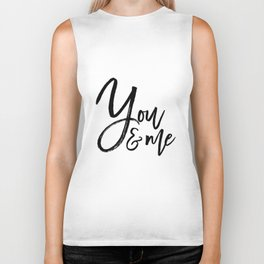 you and me embroidery wedding embroidery design ampersand applique Biker Tank