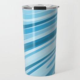 Blue and white swirls Travel Mug