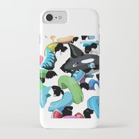 pool iPhone & iPod Cases featuring Pool by kiwiroom