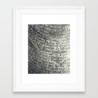 writing Framed Art Prints featuring ancient writing by Falko Follert Art-FF77