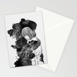 It would takes a life time to get over. Stationery Cards
