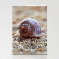seashell Stationery Cards featuring Seashell by Ekaterina La