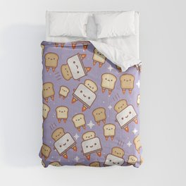 Space Toast Comforters