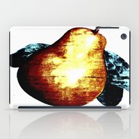 pear iPad Cases featuring Pear by Soulmaytz