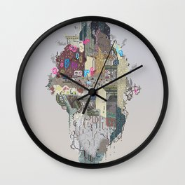 Onion City Diorama Wall Clock