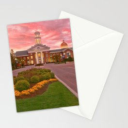 Trible Library CNU at Sunset Stationery Cards