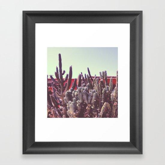 Cacti I Framed Art Print
