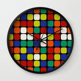 The Magic Cube Wall Clock