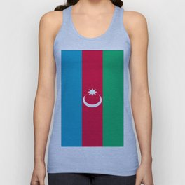 Flag Of Azerbaijan  Unisex Tank Top