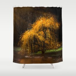 Dancing Sprites Shower Curtain