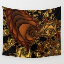 Cornucopia Fractal Wall Tapestry