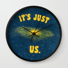 It's Just Us. Wall Clock