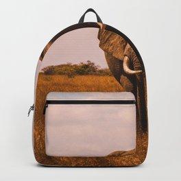 Elephant Safari (Color) Backpack