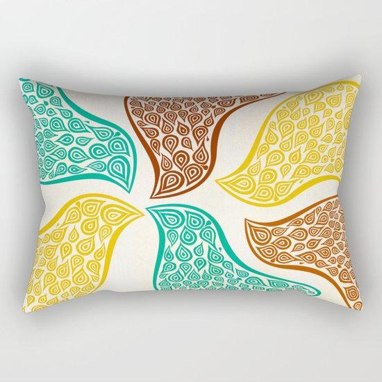 Birds in Disguise Color Rectangular Pillow