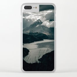 Moody Mount St. Helens Clear iPhone Case