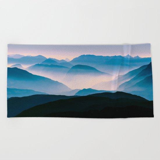 Pale Morning Light Beach Towel