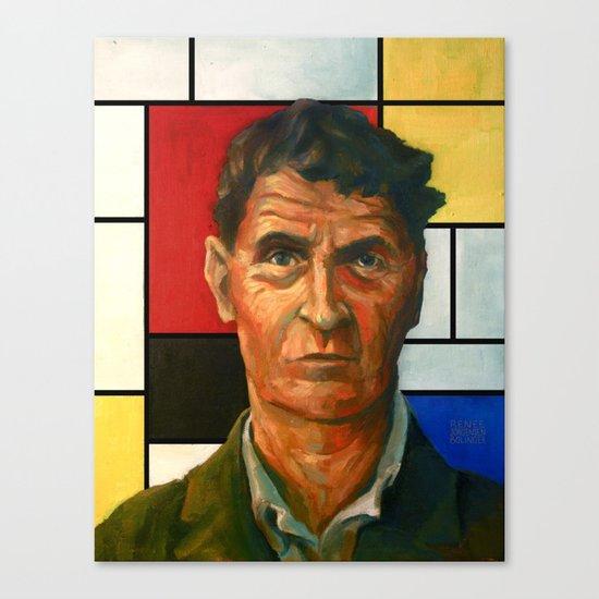 Ludwig Wittgenstein Canvas Print