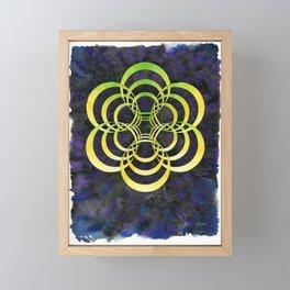 Portalattice Framed Mini Art Print