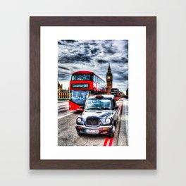 Westminster Bridge Framed Art Print