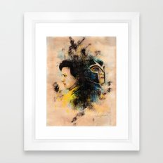 Divide Framed Art Print