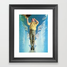 Sea Saw Framed Art Print