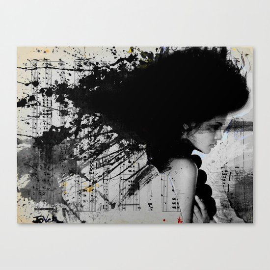 STAVE Canvas Print