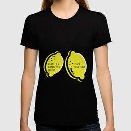Lemon Quote T-shirt