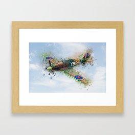 Hawker Hurricane Mk II Framed Art Print