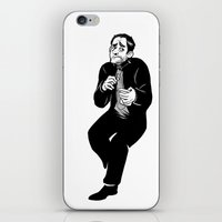 crowley iPhone & iPod Skins featuring Crowley by Mcnobody Studios