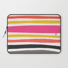 Streifen 001 / Multicolor Stripe Pattern Laptop Sleeve