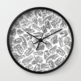 Paleontology Dream Wall Clock