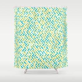 Happy Summer Brunch Shower Curtain