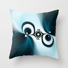 Mystic Magnetism Throw Pillow