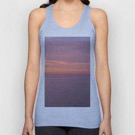 Colors of the sea at the blue hour Unisex Tank Top