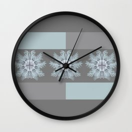Vintage Sea Anemones II Wall Clock