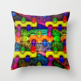 Same Easter eggs as every year ... Throw Pillow