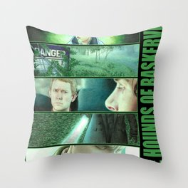 The Hounds of Baskerville Throw Pillow