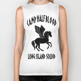 camp half blood Biker Tank