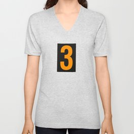 Three Comes After Two Unisex V-Neck