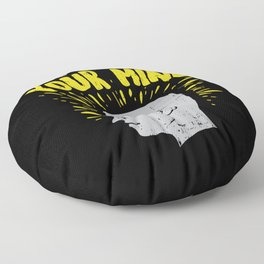 Be Kind To Your Mind For Mental Health Awareness Floor Pillow