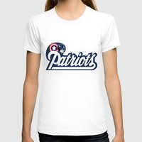 patriots T-shirts featuring American Patriots by SuperEdu